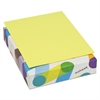 Mohawk BriteHue Multipurpose Colored Paper, 20lb, 8 1/2 x 11, Ultra Lemon, 500 Sheets