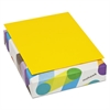 Mohawk BriteHue Multipurpose Colored Paper, 24lb, 8 1/2 x 11, Sun Yellow, 500 Sheets