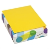 BriteHue Multipurpose Colored Paper, 24lb, 8 1/2 x 11, Yellow, 500 Sheets