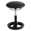 "Twixt Desk Height Ergonomic Stool, 22 1/2"" High, Black Vinyl"
