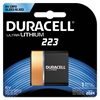 Duracell Ultra High Power Lithium Battery, 223, 6V, 1/EA