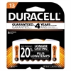 Duracell Button Cell Lithium Battery, #13, 8/Pk