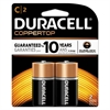 Duracell CopperTop Alkaline Batteries with Duralock Power Preserve Technology, C, 2/Pk