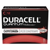 Duracell Quantum Alkaline Batteries with Duralock Power Preserve Technology, C, 72/Carton
