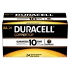Duracell CopperTop Alkaline Batteries with Duralock Power Preserve Technology, AA, 24/Box