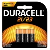 Duracell CopperTop Alkaline Batteries with Duralock, 21/23, 4/Pk