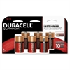 Duracell Quantum Alkaline Batteries w/Duralock Power Preserve Technology, C, 1.5V, 6/Pk