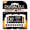 Duracell Button Cell Hearing Aid Battery #13, 16/Pk