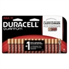 Duracell Quantum Alkaline Batteries with Duralock Power Preserve Technology, AAA, 16/Pk