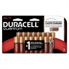 Duracell Quantum Alkaline Batteries with Duralock Power Preserve Technology, AA, 16/Pk