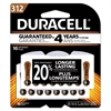 Duracell Button Cell Hearing Aid Battery #312, 16/Pk