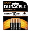 Duracell CopperTop Alkaline Batteries, Duralock Power Preserve Technology, AAA, 8/PK