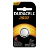 Duracell Button Cell Lithium Electronics Battery, 2032, 3V, 6/Box