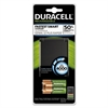 Duracell ION SPEED 4000 Hi-Performance Charger, Includes 2 AA and 2 AAA NiMH Batteries