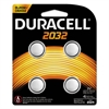 Duracell Lithium Medical Battery, 3V, 2032, 4/Pk
