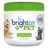 BRIGHT Air Pet Odor Eliminator, Cool Citrus, 14 oz Jar