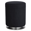 "Swivel Keg Seating, 16 1/2"" Diameter x 21"" High, Black"