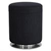 """Safco Swivel Keg Seating, 16 1/2"""" Diameter x 21"""" High, Black"""