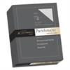 Southworth Parchment Specialty Paper, Gray, 24lb, 8 1/2 x 11, 500 Sheets