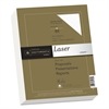 Southworth 25% Cotton Laser Paper, 32lb, 97 Bright, 8 1/2 x 11, Wicked White, 300 Sheets