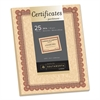 Southworth Parchment Certificates, Copper w/Red & Brown Border, 8 1/2 x 11, 25/Pack