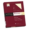 Southworth 100% Cotton Resume Paper, Ivory, 24lb, 8 1/2 x 11, Wove, 100 Sheets