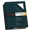25% Cotton Business Paper, 24lb, 95 Bright, 8 1/2 x 11, 500 Sheets