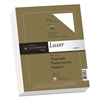 Southworth 25% Cotton Premium Laser Paper, 32lb, 95 Bright, Smooth, 8 1/2 x 11, 300 Sheets