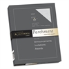Southworth Parchment Specialty Paper, 24lb, 8 1/2 x 11, Gray, 100 Sheets