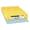 Neenah Paper Exact Vellum Bristol Cover Stock, 67lb, 11 x 17, Blue, 250 Sheets