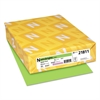 Color Cardstock, 65lb, 8 1/2 x 11, Martian Green, 250 Sheets