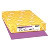 Color Paper, 24lb, 11 x 17, Planetary Purple, 500 Sheets