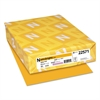 Color Paper, 24lb, 8 1/2 x 11, Galaxy Gold, 500 Sheets