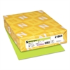 Astrobrights Color Cardstock, 65lb, 8 1/2 x 11, Vulcan Green, 250 Sheets
