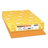 Color Paper, 24lb, 11 x 17, Cosmic Orange, 500 Sheets