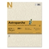 Neenah Paper Astroparche Specialty Card Stock, 65lb, 8 1/2 x 11, Natural, 250 Sheets