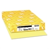 Neenah Paper Exact Vellum Bristol Cover Stock, 67lb, 11 x 17, Yellow, 250 Sheets