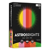 "Astrobrights Color Paper -""Vintage"" Assortment, 24lb, 8 1/2 x 11, 5 Colors, 500 Sheets"