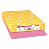 Color Paper, 24lb, 11 x 17, Pulsar Pink, 500 Sheets