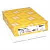 Color Paper, 24lb, 8 1/2 x 11, Stardust White, 500 Sheets