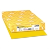 Color Paper, 24lb, 11 x 17, Solar Yellow, 500 Sheets