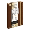 Business Journal, Ruled, 8 1/4 x 5 1/8, Dark Brown Cover, 240 Sheets