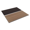 Reversible Laminate Table Top, Rectangular, 59 1/2w x 29 1/2d, Espresso/Walnut