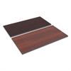 Alera Reversible Laminate Table Top, Rectangular, 48w x 24d, Medium Cherry/Mahogany