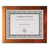 Copper Finish Metal Document/Photo Frame, 8 1/2 x 11
