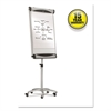 Euro Premium Mobile Magnetic Easel, 27 x 41, White