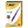 Velocity Retractable Ballpoint Pen, Medium 1mm, Blue Ink & Barrel, 36/Pack