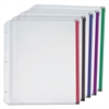 Cardinal Expanding Zipper Binder Pocket, 11 x 8 1/2, Assorted Colors, 5/Pack