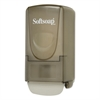 Softsoap Plastic Liquid Soap Dispenser, 800mL, 5.4w x 4 1/2d x 10.9h, Smoke