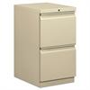 basyx Mobile Pedestal File, File/File, 15 x 20 x 28, Putty